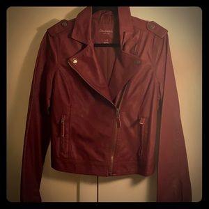 Juniors Pleather jacket